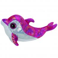 Beanie Boo's Дельфин Sparkles (розовый), 33 см