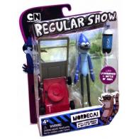 Мордекай (Mordecai) с газонокосилкой, (15 см) Regular Show 92116-mk