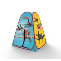 Палатка сборная 3D Самолеты, 4 панели