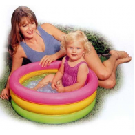 "Бассейн надувной ""Sunset Glow Baby Pool"", 86х25см"