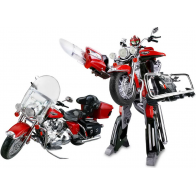 Harley Davidson, Робот-трансформер 1:8, свет, звук