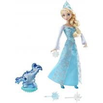 """Эльза из м/ф """"Холодное сердце"""" в наборе с 3 снежинками и Зефиркой, световые эффекты, Disney Princess"""
