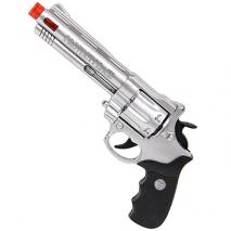 Игрушечный револьвер со световыми и звуковыми эффектами