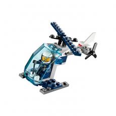 Полицейский вертолет, Лего Город 30222
