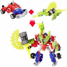 Констракт-боты: Optimus Prime & Gnaw Dino