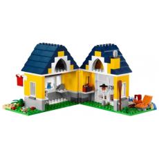 Конструктор LEGO CREATOR Домик на пляже вид сзади