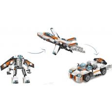 Конструктор LEGO CREATOR Летающий робот три вида техники
