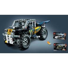 Конструктор LEGO TECHNIC Рекордсмен объединенный с  квадроциклом