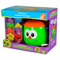 Умный горшочек, развивающая игрушка, эл/мех., со световыми и звуковыми эффектами, 208410