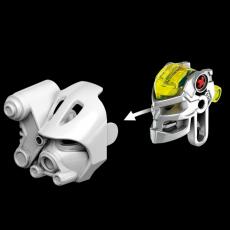 Конструктор LEGO BIONICLE Копака – Повелитель Льда - механизм снятия маски