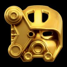 Конструктор LEGO BIONICLE Копака – Повелитель Льда - золотая маска льда