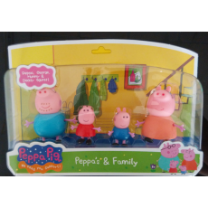 Свинка Пеппа и её семья, набор фигурок