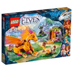 Лавовая пещера Дракона Огня Lego Elves