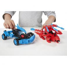 Автобот Дрифт и Буйный динозавр 3в1. Констракт-Боты: Воины. Transformers 4