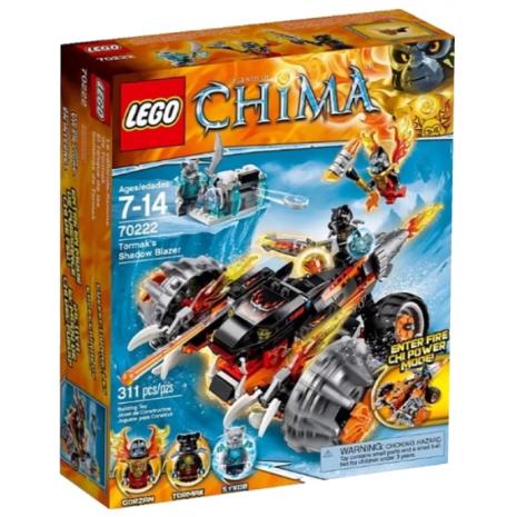 LEGO LEGENDS OF CHIMA Огненный Вездеход Тормака