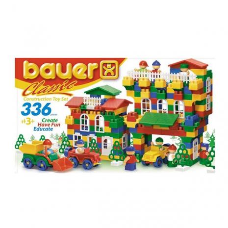 Конструктор Classik New, 336 элемента Кроха (Bauer), Бауэр