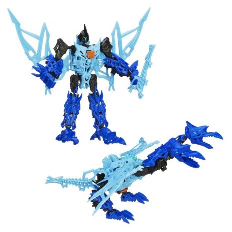 Собери робота: динобот Стрэйф