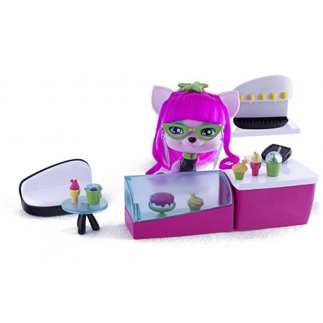 VIP PET, игровой набор собачка Леди Гиги и её кофейня