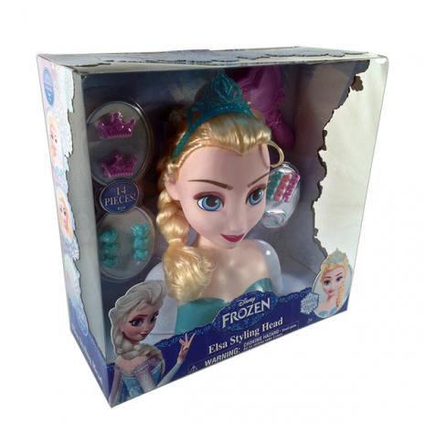 Кукла-модель принцесса Эльза в коробке