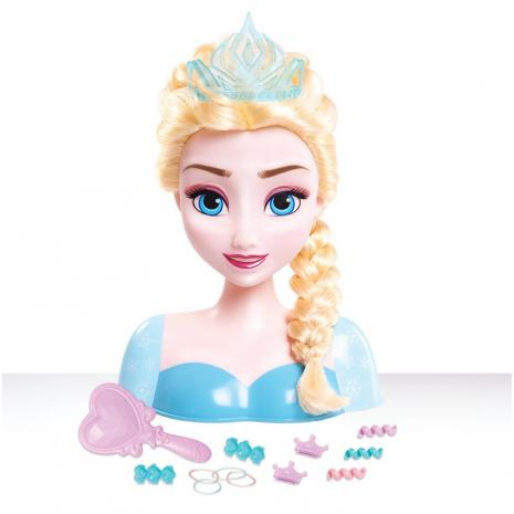 Эльза, кукла-модель для создания причесок, 14 аксессуаров