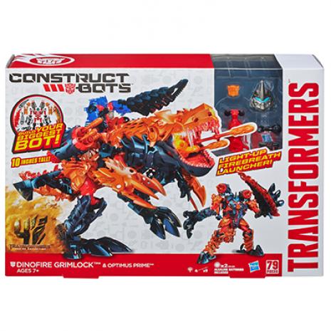 Dinofire Grimlock & Optimus Prime