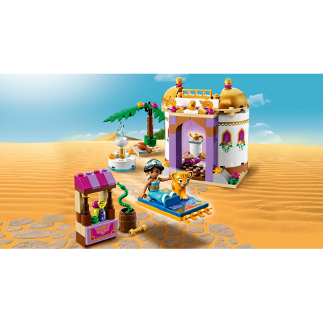 Конструктор LEGO DISNEY PRINCESS Экзотический дворец Жасмин лавка торговца