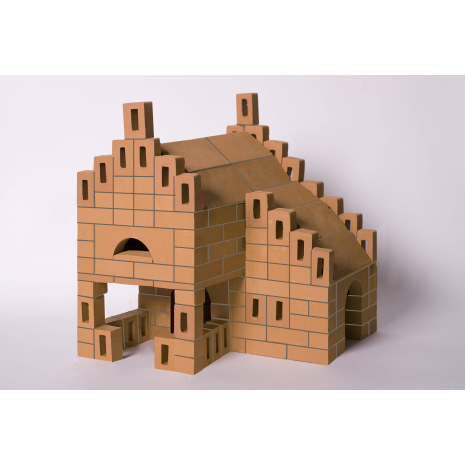 """?Конструктор BrickMaster """"Летний домик"""" из настоящих кирпичиков (243 деталей)"""