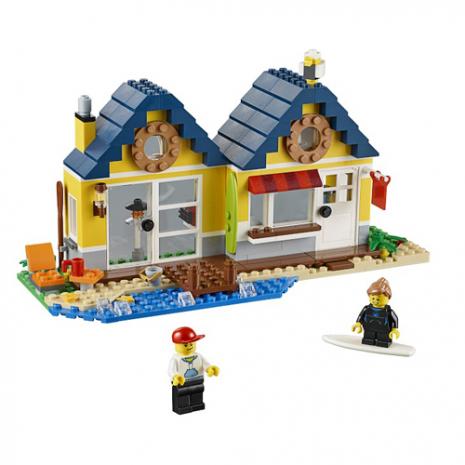 Конструктор LEGO CREATOR Домик на пляже