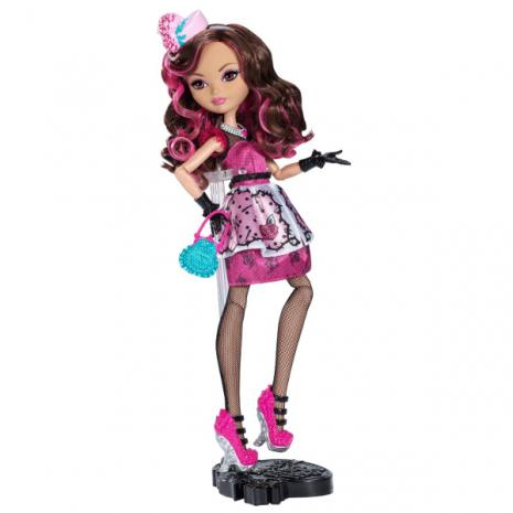 """Кукла Ever After High  """"Долго и Счастливо"""" Шляпное чаепитие - Браер Бьюти (Briar Beauty), Mattel на подставке"""
