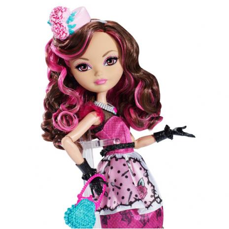 """Кукла Ever After High  """"Долго и Счастливо"""" Шляпное чаепитие - Браер Бьюти (Briar Beauty), Mattel крупный план"""