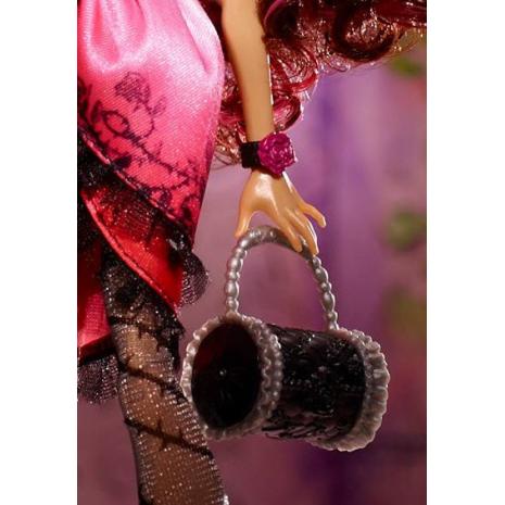 "Кукла  Ever After High ""Долго и Счастливо"" Базовая - Браер Бьюти (Briar Beauty), Mattel сумочка"