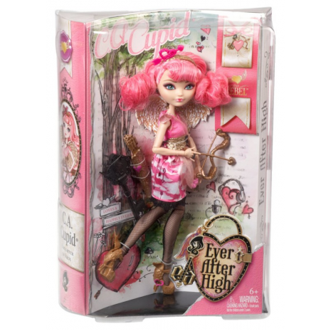 """Кукла Ever After High """"Долго и Счастливо"""" Базовая - Кьюпид (Cupid), Mattel, BJG73 в упаковке"""