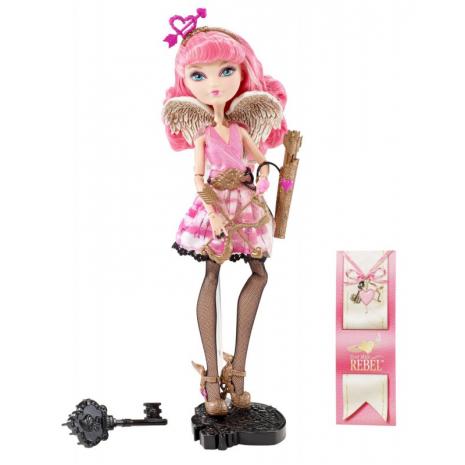 """Кукла Ever After High  """"Долго и Счастливо"""" Базовая - Кьюпид (Cupid), Mattel, BJG73 в полный рост"""