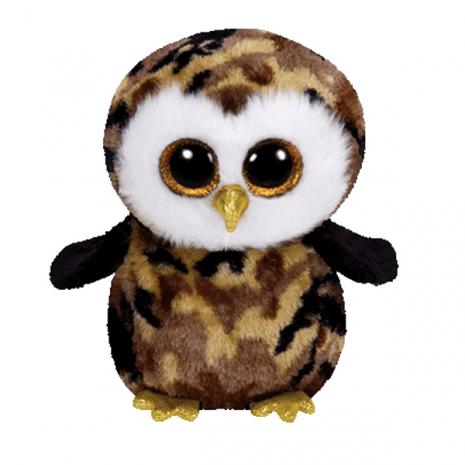 Beanie Boo's Совенок OWLIVER (коричнево-черный), 33 см