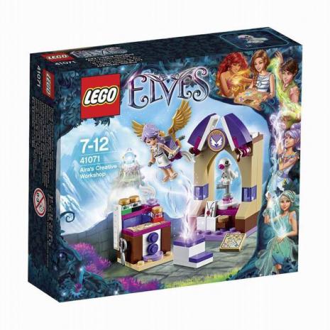 Творческая мастерская Эйры  Lego Elves в упаковке