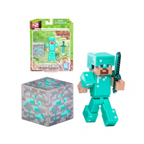 Фигурка Minecraft Diamond Steve