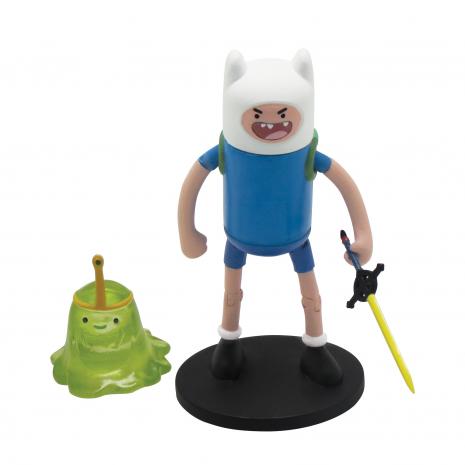 Фигурки Фин и Принцесса Слизь (Finn & Slime Princess), 6 см, Время приключений (Adventure Time) 14341-mk