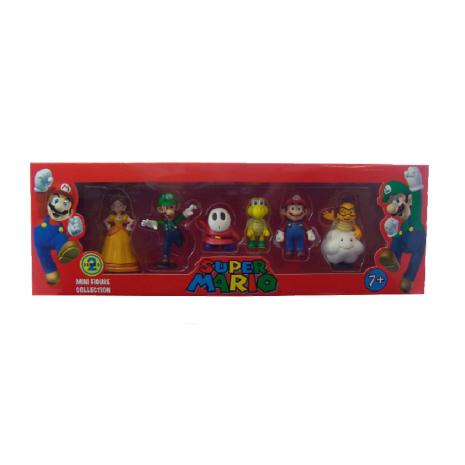 Набор мини-фигурок Марио Mario Series 2 ( 6 в 1)