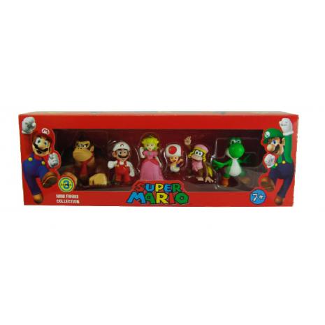 Набор мини-фигурок Марио Mario Series 3 (6 в 1)