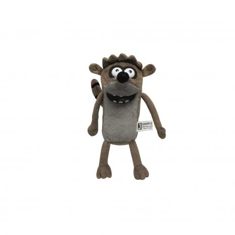 Ригби (Rigby), плюшевая игрушка со звуком (27 см), Regular Show 92142-mk