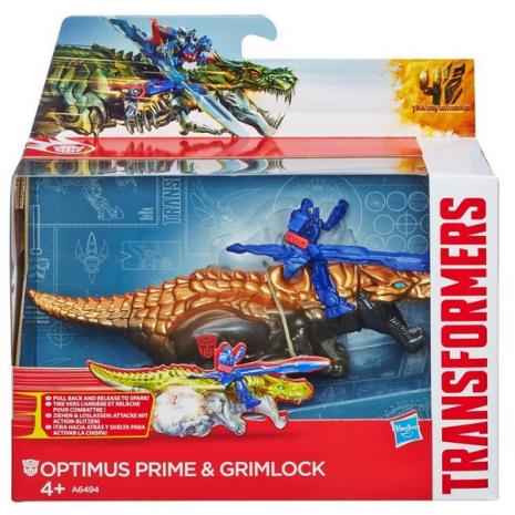 Дино Спаркс: Оптимус Прайм и Гримлок, Transformers