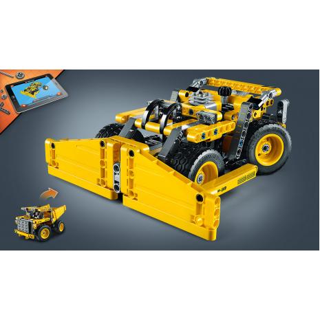 Конструктор LEGO TECHNIC Карьерный грузовик, бульдозер