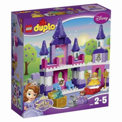 Конструктор LEGO DUPLO Прекрасная: королевский замок Софии