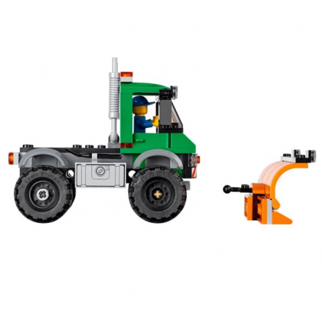 Снегоуборочный грузовик, конструктор Лего, серия CITY