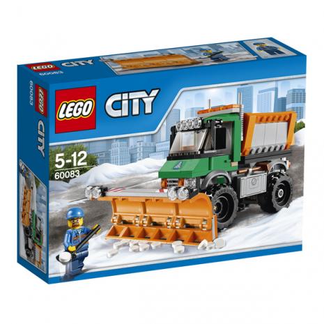Снегоуборочный грузовик, серия LEGO CITY
