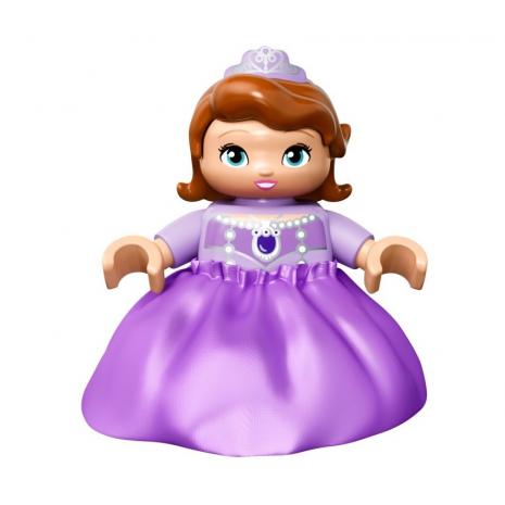 Конструктор LEGO DUPLO Прекрасная: королевский замок Софии сама София