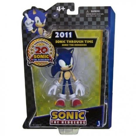 Фигурка Соник 2011 Sonic Through Time (13см), 65702