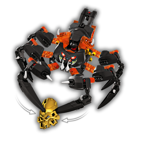 Конструктор LEGO BIONICLE Лорд Паучий Череп