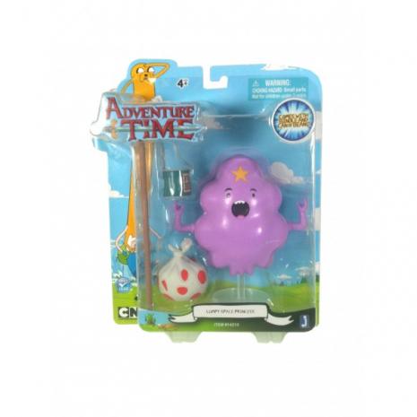 Фигурка Принцесса Пупырка (14 см) с аксессуарами, Время Приключений (Lumpy Space Princess, Adventure Time)