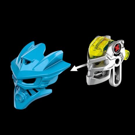 Конструктор LEGO BIONICLE Гали – Повелительница Воды - механизм снятия маски